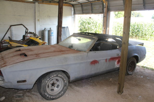 19730000 Ford Mustang Q Code