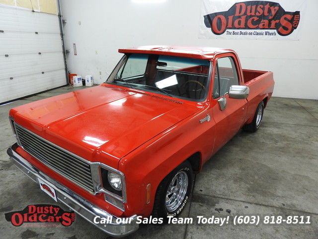 1973 Chevrolet C-10 Runs Drives Body Inter VGood 350V8 Auto