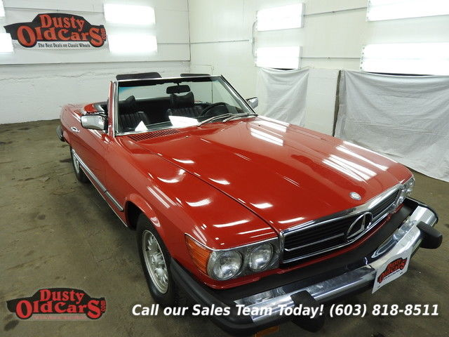 1973 Mercedes-Benz SL-Class Runs Drives Body Inter Vgood 4.5L V8 3 spd auto