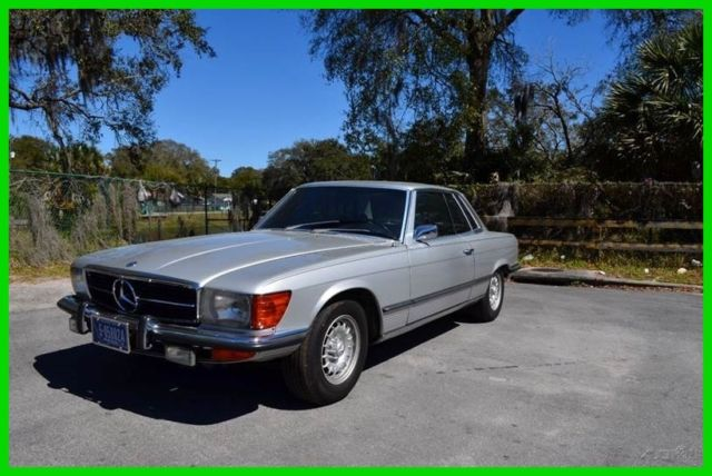 1973 Mercedes-Benz 400-Series SLC450