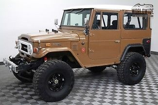 1973 Toyota Land Cruiser Fuel Injected conversion! Disc Brakes!