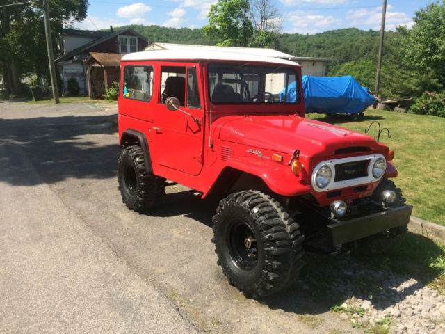 1973 Toyota Land Cruiser FJ Land Cruiser