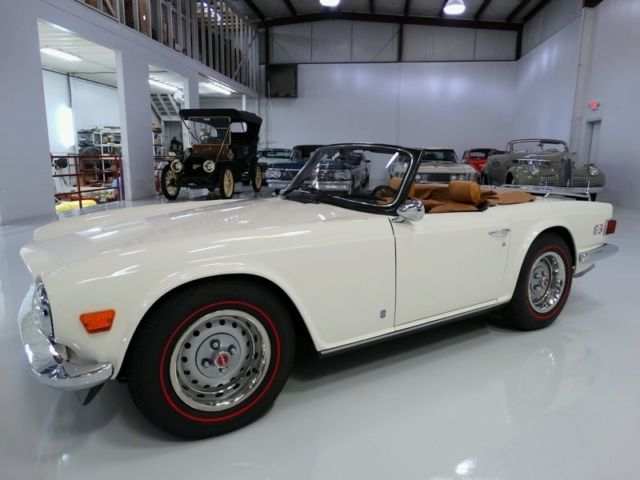 1973 Triumph TR-6 Roadster, ONLY 49,040 ACTUAL MILES!