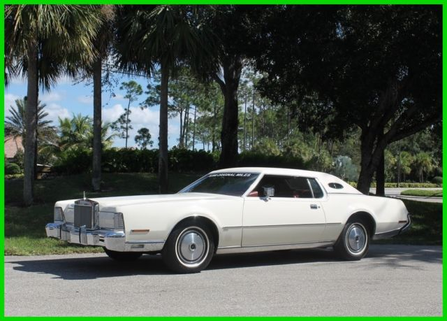 1973 Lincoln Continental Mark IV 35,000 Actual Miles