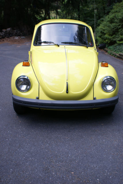 volkswagen beetle classic special edition super beetle yellow sports bug  sale