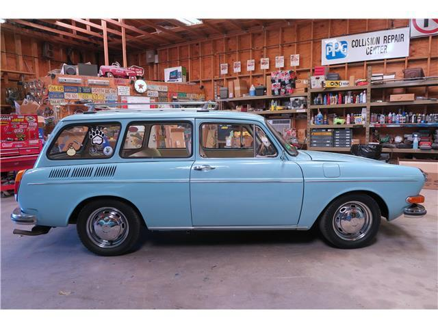 1973 Volkswagen Squareback Type 3 Fuel Injected 1600 Clean
