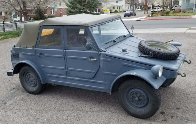 Volkswagen Thing For Sale >> 1973 Volkswagen Thing Kubelwagen Conversion For Sale Photos