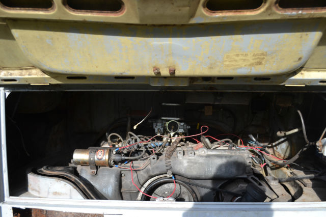 1973 VW Bay Window Transporter Van Automatic High Top for ...