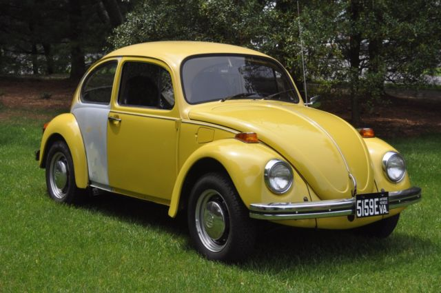 1973 Vw Beetle 2 Door Sedan 2 Owner Vehicle 4 Speed Manual