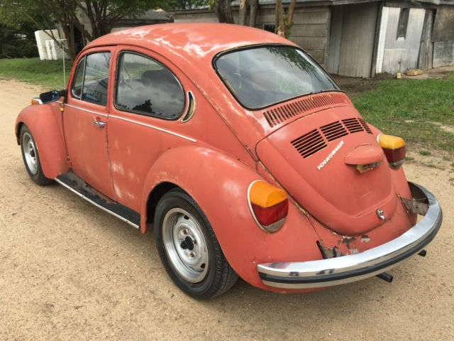 1973 vw beetle runs great clear title very minor exterior rust great interior for sale photos. Black Bedroom Furniture Sets. Home Design Ideas