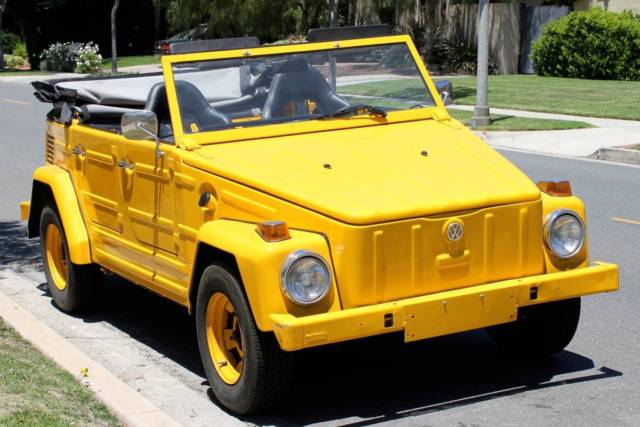 1973 vw thing volkswagen 181 safari rebuilt engine low miles fun car for sale photos technical. Black Bedroom Furniture Sets. Home Design Ideas