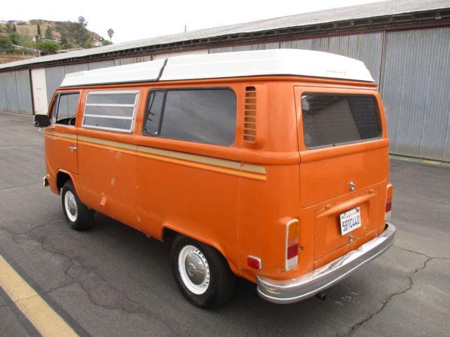 1973 vw westfalia campermobile solid california vw bus westy pop top camper for sale photos. Black Bedroom Furniture Sets. Home Design Ideas