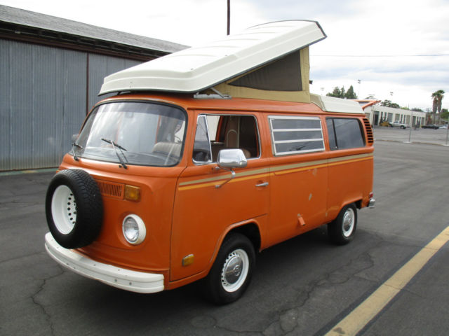 1973 Vw Westfalia Campermobile Solid California Vw Bus