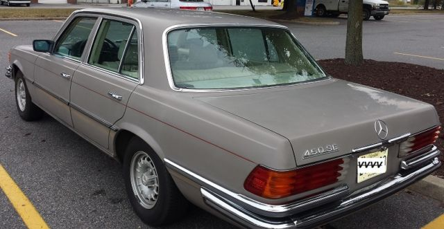 1973 w116 classic mercedes benz 450se for sale photos technical specifications description. Black Bedroom Furniture Sets. Home Design Ideas