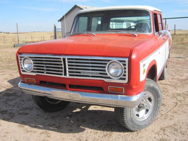1973 International Harvester Other 1210 4x4 Wagonmaster