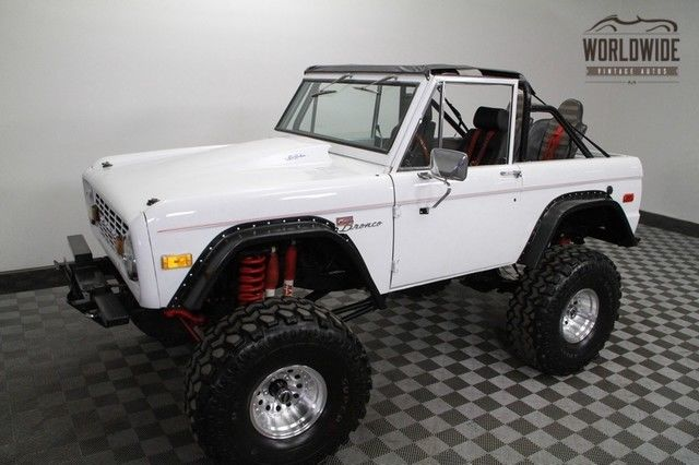1973 Ford Bronco Beast! 351W V8, 38 inch super swampers.