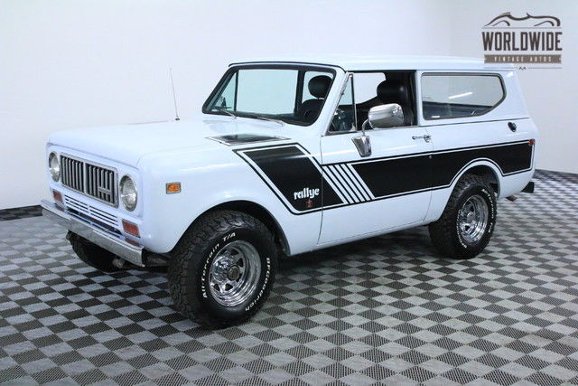 1973 International Harvester Scout RESTORED RARE RALLYE PACKAGE