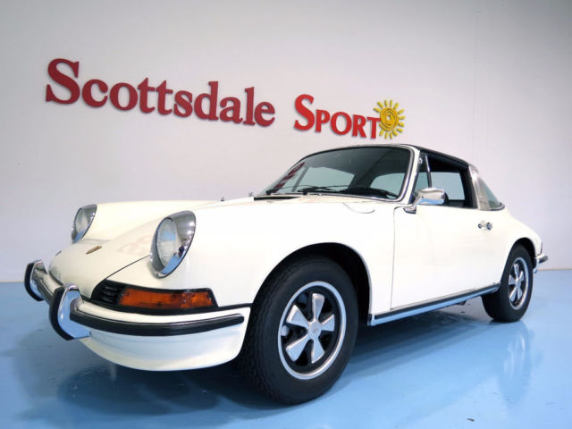 1973 Porsche 911 ONLY 54K MILES. 1,944 BUILD BOSCH CIS INJECTION 14