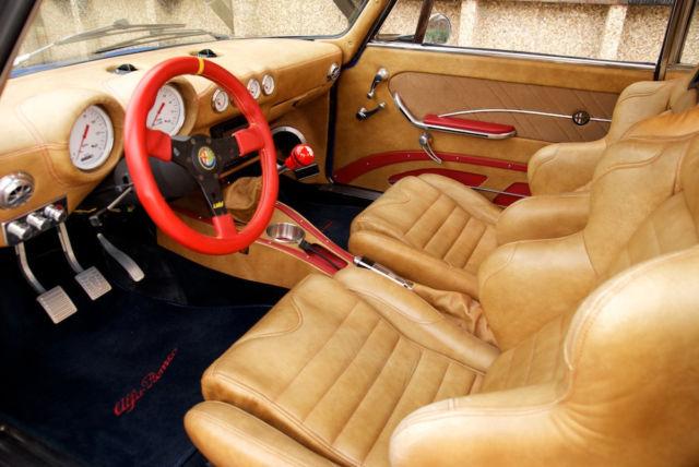 1974 Alfa Romeo Gtv Amazing Custom Leather Interior