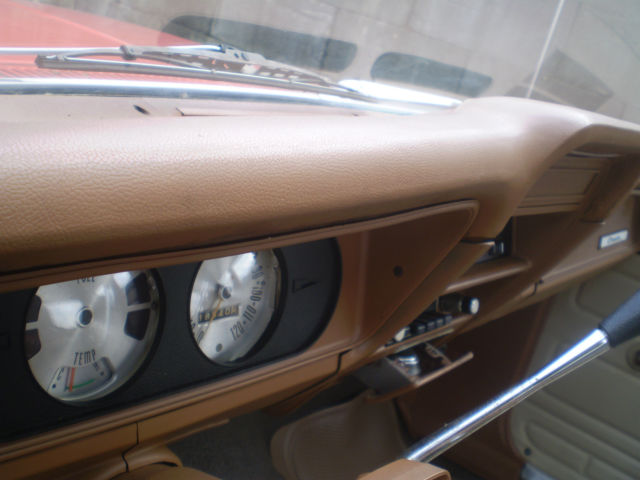 1974 ORANGE AMC Gremlin with TAN interior
