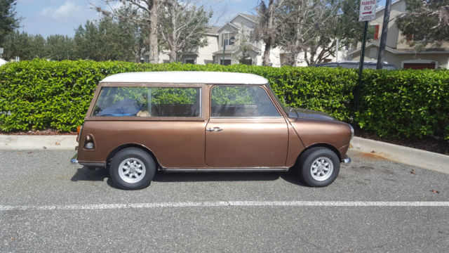 1974 Austin Mini Cooper 1000 Traveller Wagon Clubman Right Hand