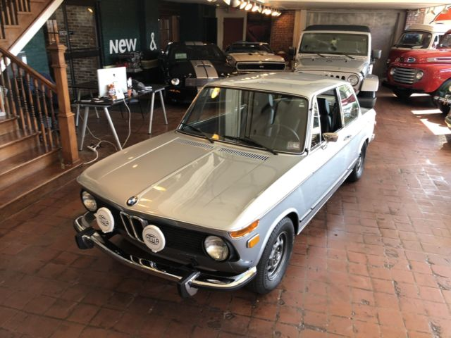 1974 Blue BMW 2002 COUPE with Black interior