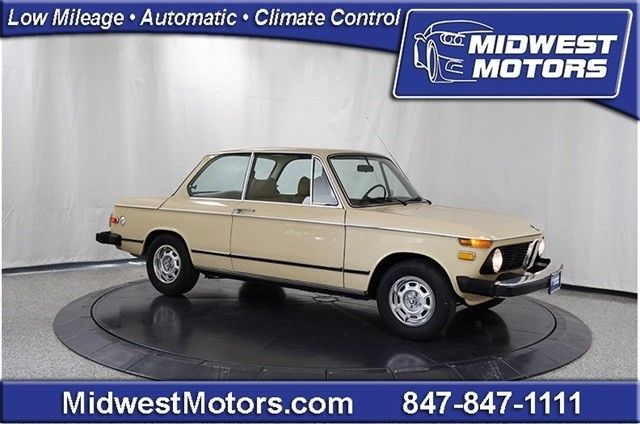1974 BMW 2002 2DR COUPE