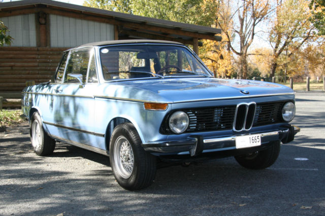 1974 bmw 2002 baur targa not turbo ti or tii for sale. Black Bedroom Furniture Sets. Home Design Ideas