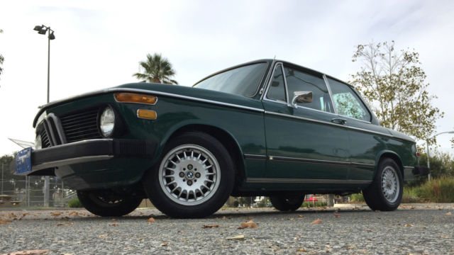 1974 BMW 2002 Base Sedan 2-Door