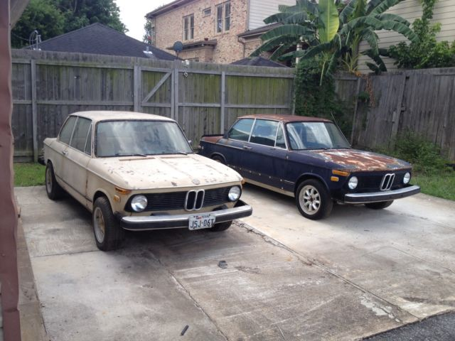 1974 bmw 2002 tii 4 speed for parts or restoration for. Black Bedroom Furniture Sets. Home Design Ideas