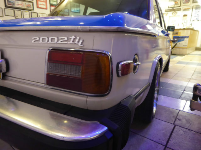 1974 Bmw 2002 Tii Many Upgrades Great Conditon From A