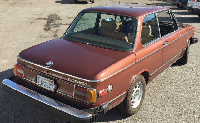 1974 BMW 2002 Tii Fuel Injected Rare Perf. Model