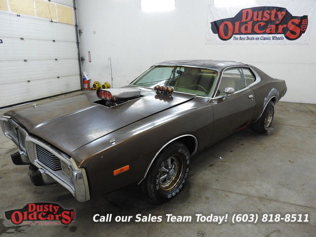 1974 Dodge Charger Runs Drives Body Int Good 340V8 Auto