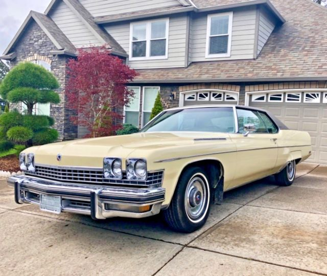 Buick Regal Gs For Sale: 1974 BUICK ELECTRA 225 COUPE 455 V8 2 DOOR RIVIERA GS GRAN