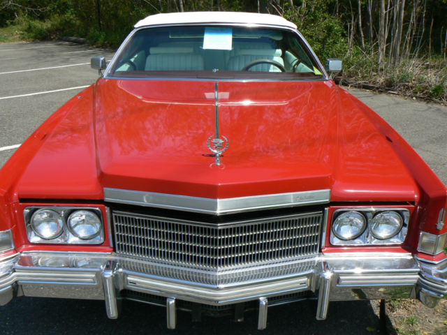 1974 Cadillac Eldorado Easy Summer Project
