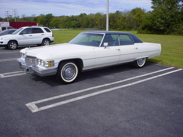 1974 Cadillac Sedan Deville For Sale Photos Technical