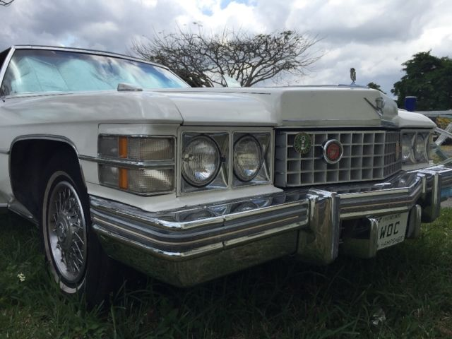 1974 Cadillac DeVille 20x7 Footer, 5,000 Pounder 500/400 ---- NO RESERVE