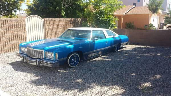 1974 Chevrolet Caprice Clic Convertible 2 Door 5 7l