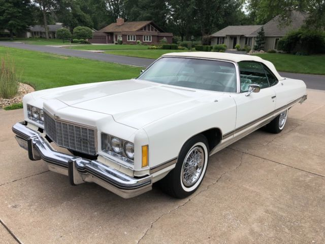 1974 Chevrolet Caprice Clic Convertible 454 Loaded