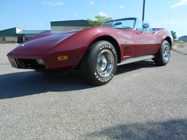1974 Chevrolet Corvette ROADSTER, C-3, L82 350/V8, 2 TOP CAR