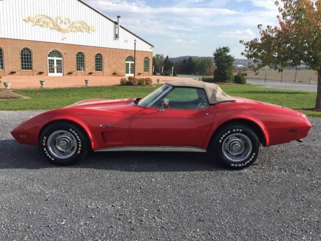 1974 Chevrolet Corvette #s Matching 4 Speed A/C Convertible