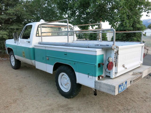 nice service 1974 chevrolet k20 service truck 4wd very nice nevada truck for