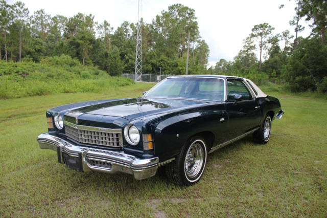 1974 Chevrolet Monte Carlo Landau 5.7L 350 V8 Must See Call Now Don't Miss It