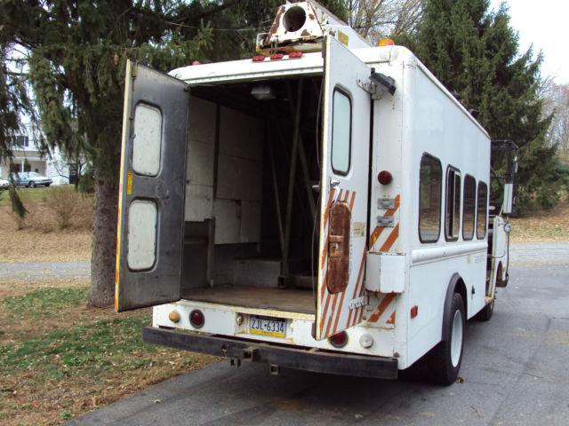 1974 Chevrolet P30 aluminum stepvan Telsta bucket truck for