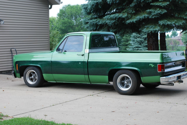 1974 chevy c10 pickup truck 454 big block lowered hot rod custom paint for sale photos. Black Bedroom Furniture Sets. Home Design Ideas