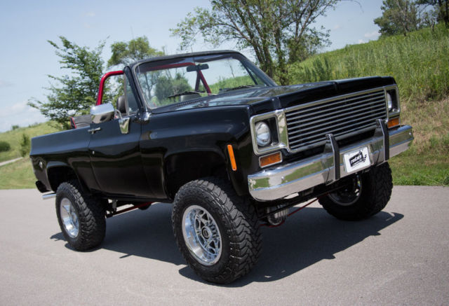 1974 chevy k5 blazer convertible 350 4wd for sale photos technical specifications description. Black Bedroom Furniture Sets. Home Design Ideas