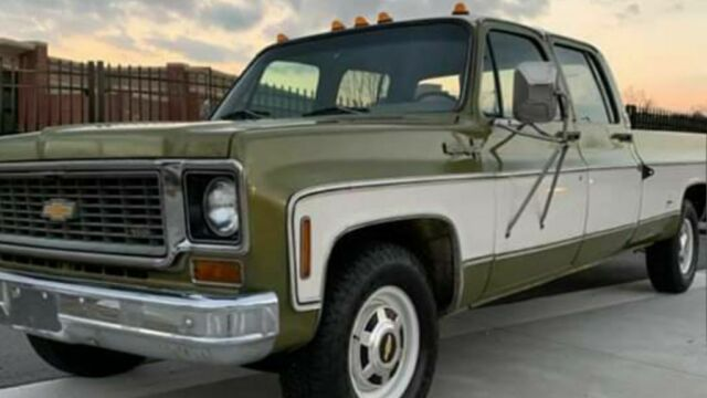 1974 Chevrolet Other Pickups C20 Camper special 3+3