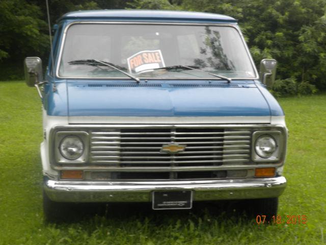 1974 Chevy Window Van