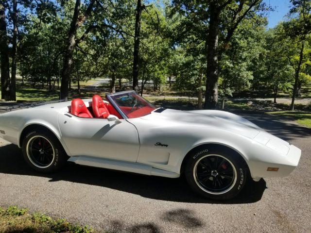 1974 Corvette Convertible W Hardtop