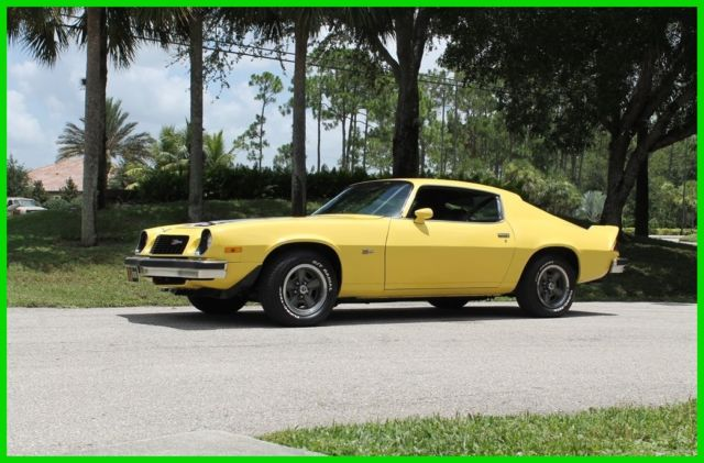 1974 Coupe Used Automatic Chevrolet Camaro Z28 Muscle Car Chevy